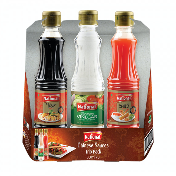 Chinese Sauces Trio Pack 300ml