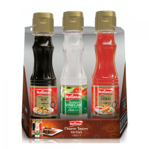 Chinese Sauces Trio Pack 120ml