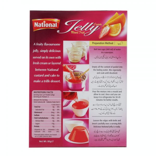 Mixed Fruit Jelly 80g