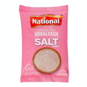 National Iodized Pink Himalayan Salt 800g