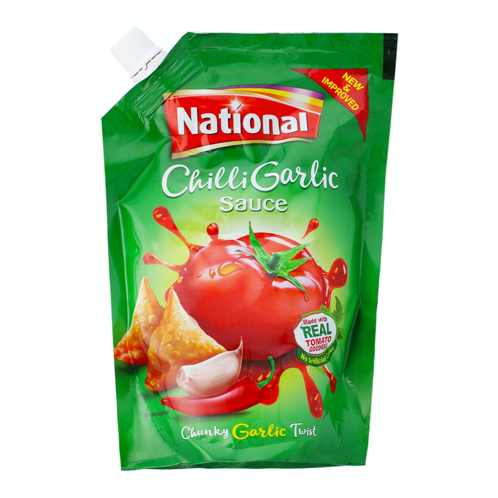 National Chilli Garlic Sauce 475g