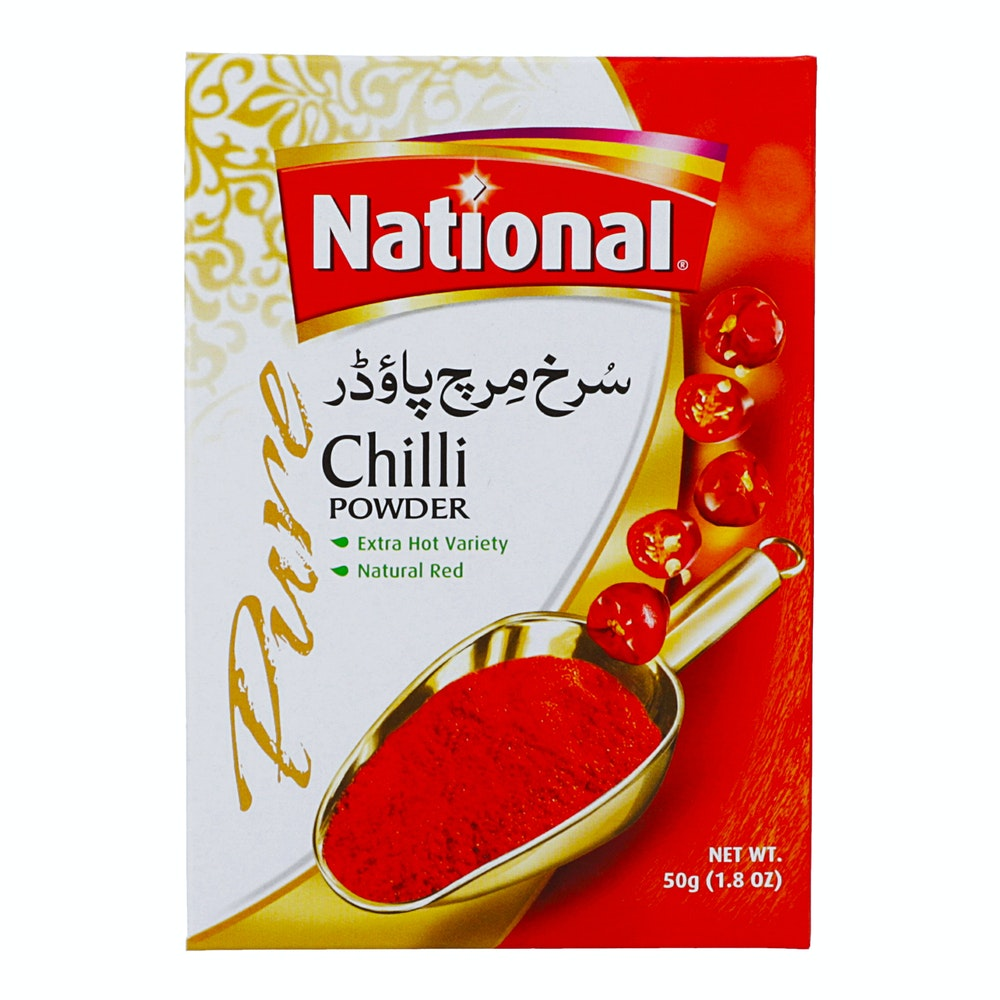 National Chilli Powder 50g