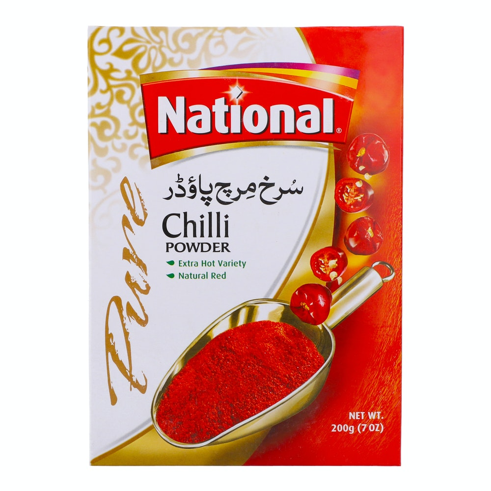 National Chilli Powder 200g