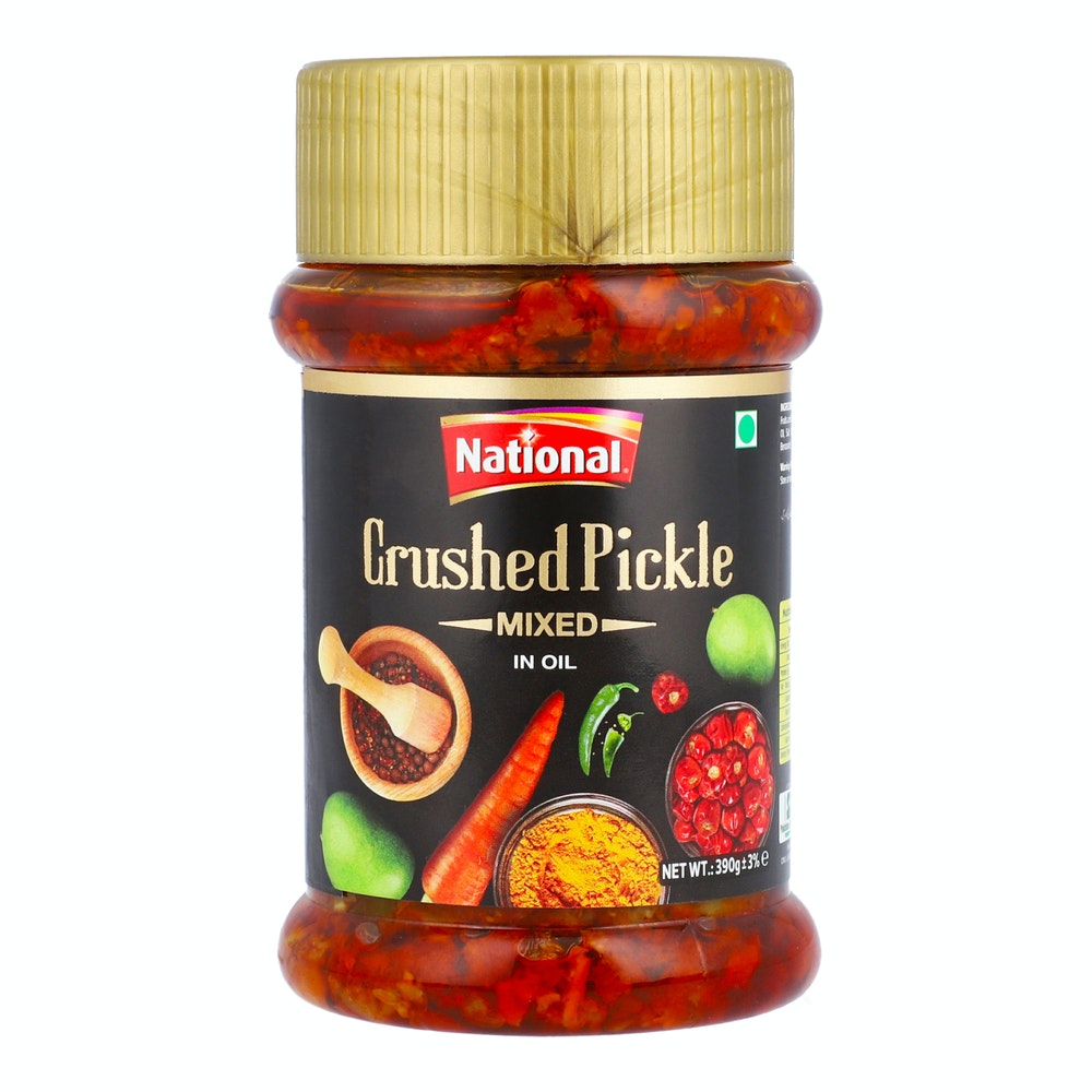 National Crushed Pickle 390g