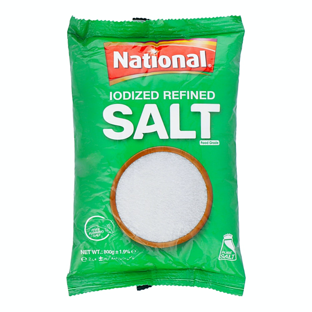 National Iodized Salt 800g
