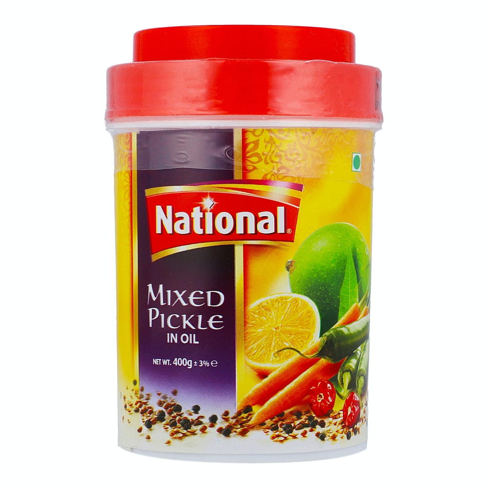 National Mixed Pickle 400g
