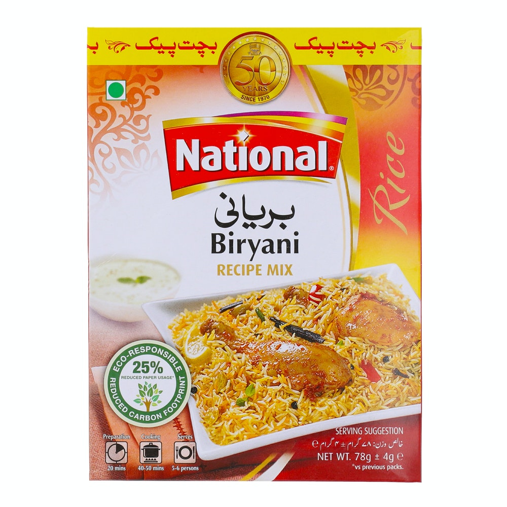 National Biryani Masala 78g